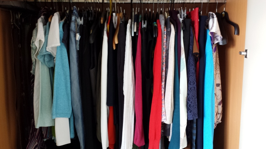 No new clothes – learning to love the clothes I have and realising I actually don't need more.